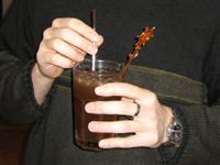 Der erste Cocktail